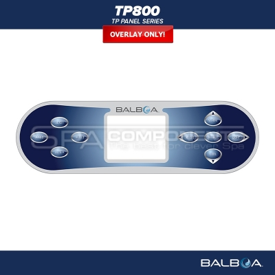 Balboa Ovládací panel TP800 | Spa-components.com on