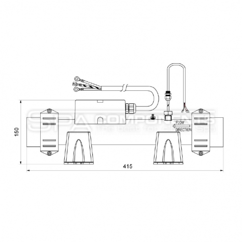 Astrel Topení EASY TITANIUM HEATER - 2.0kW - PFEAT2110000