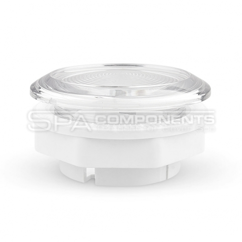 Sleeve in a spa for  LED control unit and LED lighting fitting
