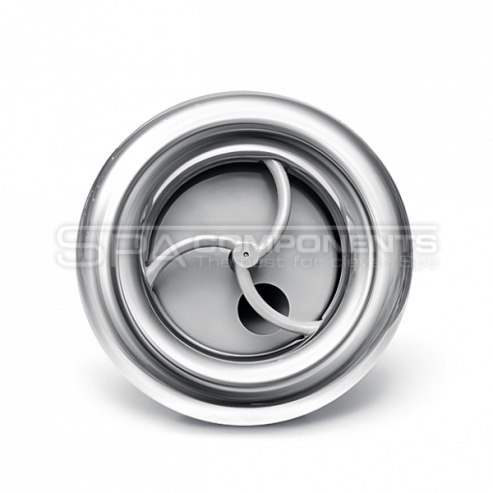 """Rising Dragon 5"""" (126 mm) Single pulse - Smooth Stainless Steel"""